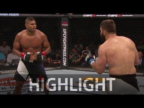 UFC Replay: Overeem KOs Arlovski In 2nd Round (Highlights)