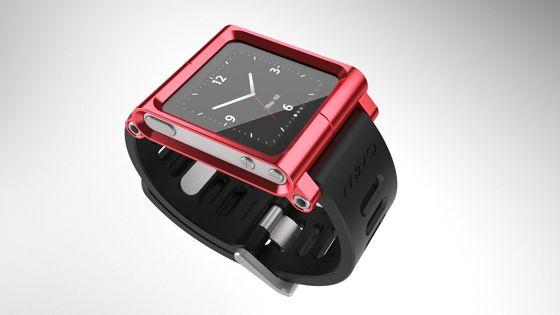 iPod Nano Watch (6 pics + video)