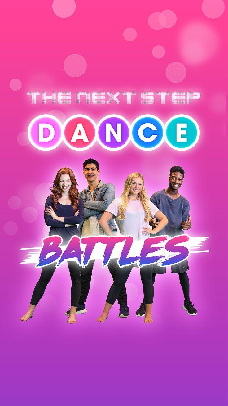 The Next Step Dance Battles game now on iTunes: http://bit.ly/tnsdb-ios and Google Play: http://bit.ly/tnsdb-gp