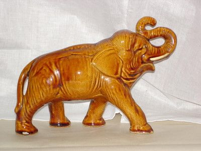 Ceramic elephant, McSkimming & Son Potteries, 1900s, 6240.02