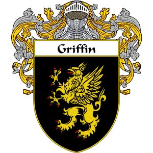 Griffin Coat of Arms   namegameshop.com has a wide variety of products with your surname with your coat of arms/family crest, flags and national symbols from England, Ireland, Scotland and Wale