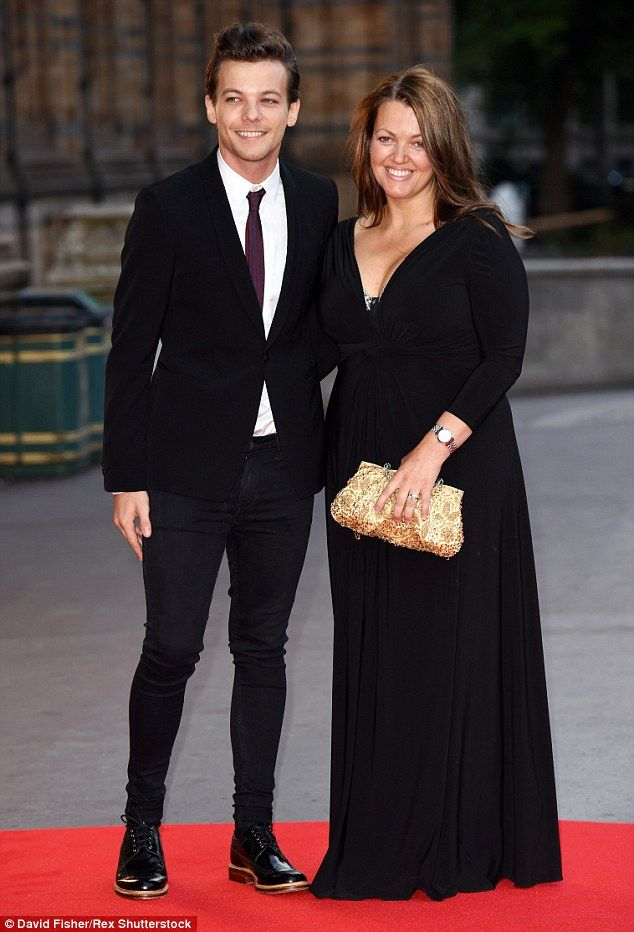 Family man: Father-to-be Louis Tomlinson took to the red carpet at the Believe In Magic Ch...