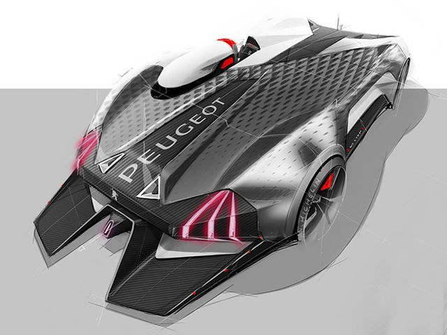 French Design Student Envisions Spectacular Open-Top Track Monster | automotive99.com