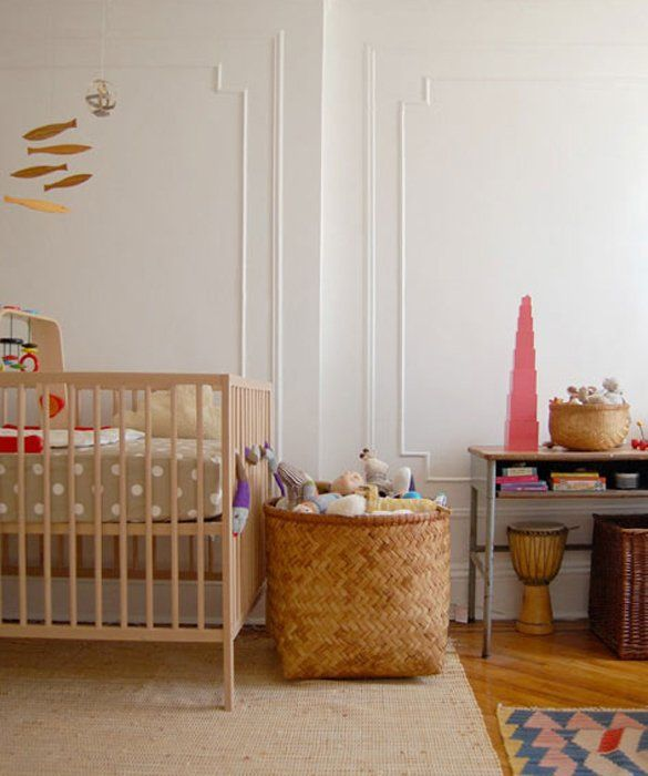 10 nursery ideas for small spaces hook it up i - Nursery ideas small spaces style ...