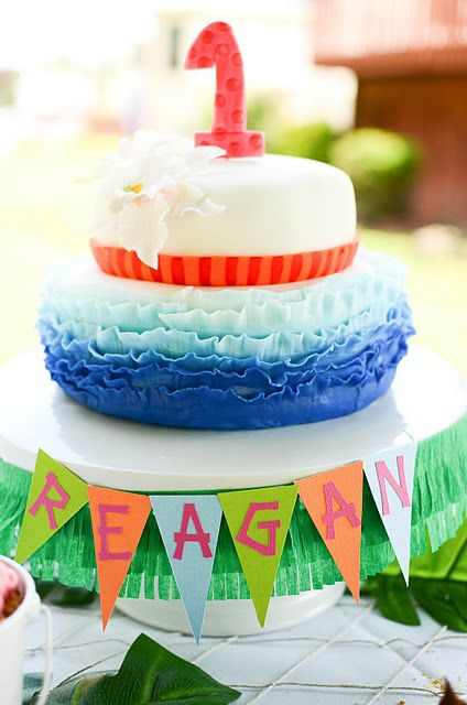 Luau 1st Birthday Party | | Kara's Party IdeasKara's Party Ideas