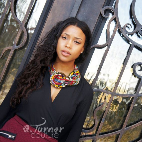 Multicolored African Jewelry   African Jewelries by ETurnerCouture
