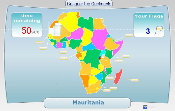 Interactive Continents for Kids – Click and Learn about All Seven «