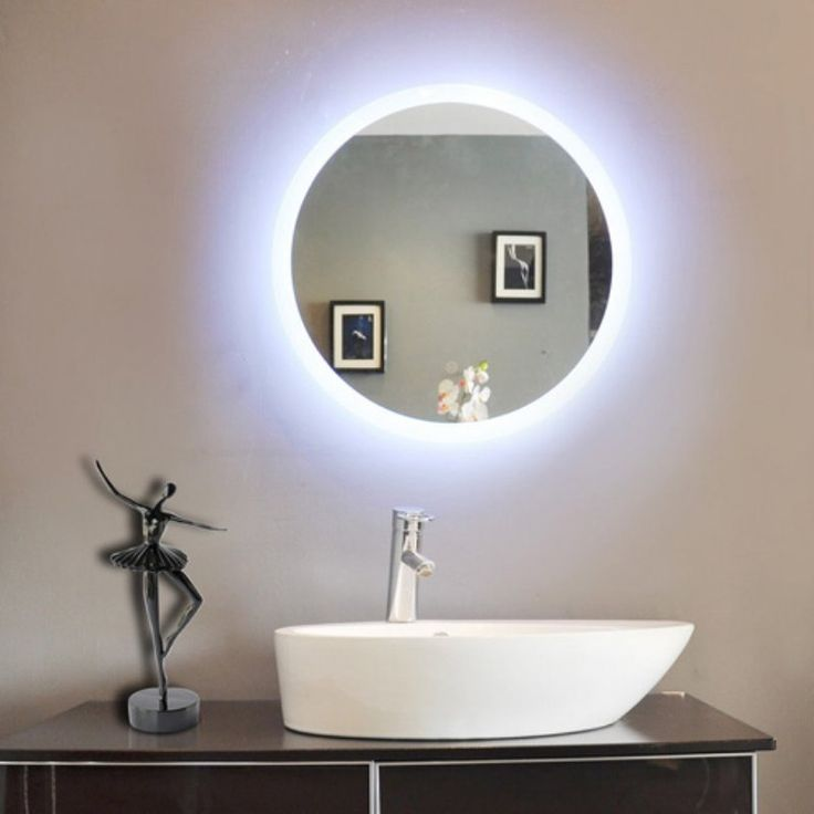 1000 ideas about round bathroom mirror on pinterest - Round mirror over bathroom vanity ...