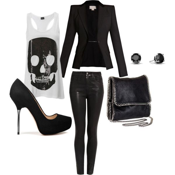 Rocker Chic -- outfit i created!