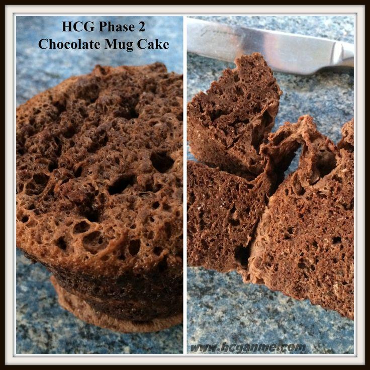Hcg Phase  Chocolate Mug Cake