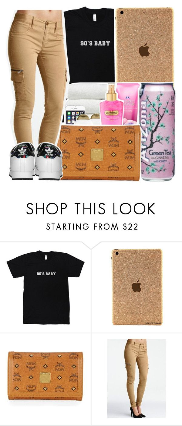"""""""Pop Style ~ Drake ft. The Throne """" by viinextdoor ❤ liked on Polyvore featuring MCM, Victoria's Secret and adidas Originals"""