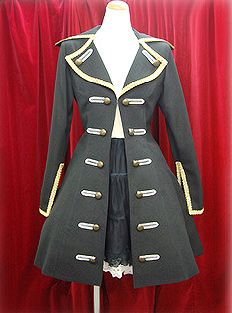 Vargossa Coat from Alice and the Pirates. An everyday pirate coat!