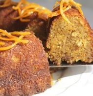 This Butternut and Orange cake recipe is a great idea for a teatime treat