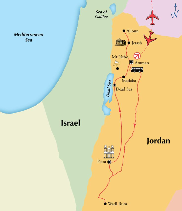 9 Day Escorted Tour of Jordan Including