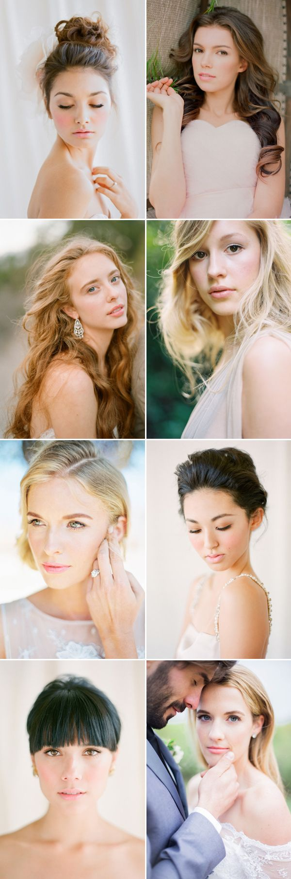 20 Effortlessly Stunning Natural Bridal Makeup Looks!