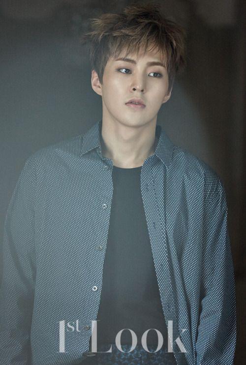 Xiumin - 160707 1st Look magazine website update Credit: 1st Look.
