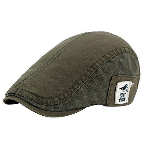 2a68d33894a9a  17.42 ACVIP Men s Cotton Blend Newsboy Cap Driving Golf Flat Hat ...