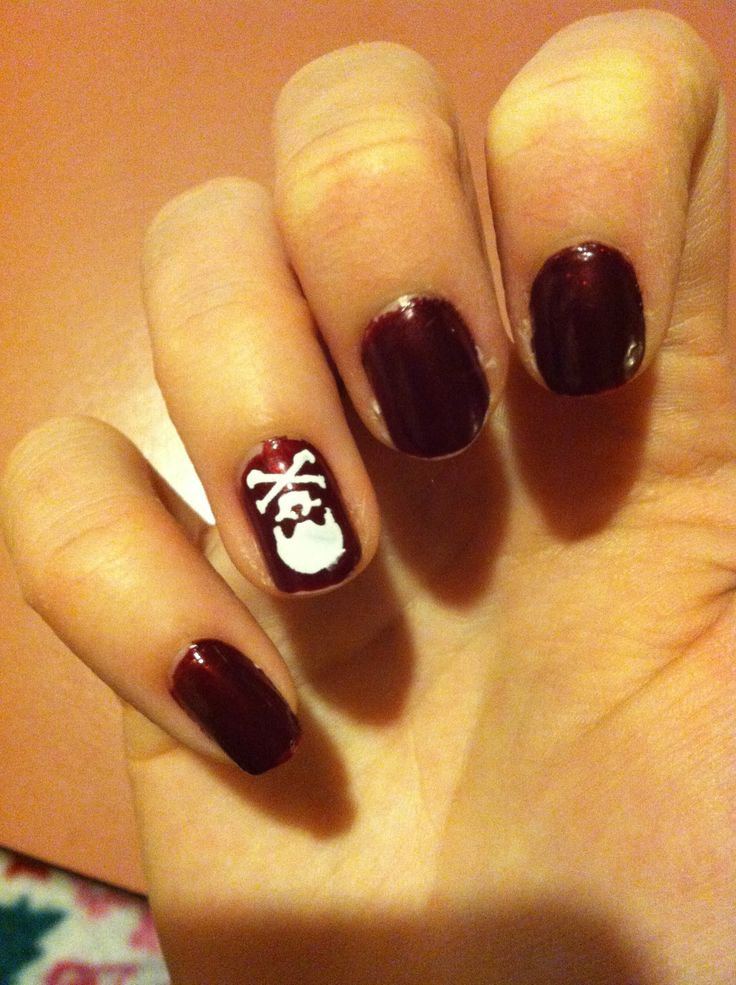 7 best sinful color nail art images on pinterest nail art covergirl outlast stay brilliant crushed berries with skull revlon nail art stencils prinsesfo Choice Image
