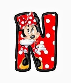 Oh my Alfabetos!: Original alfabeto de Minnie.