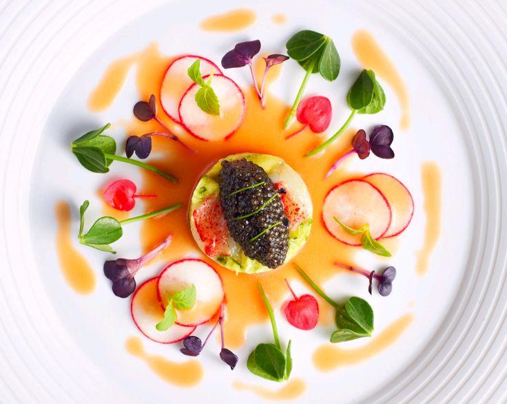 caviar salad, summer caviar, beluga, pate