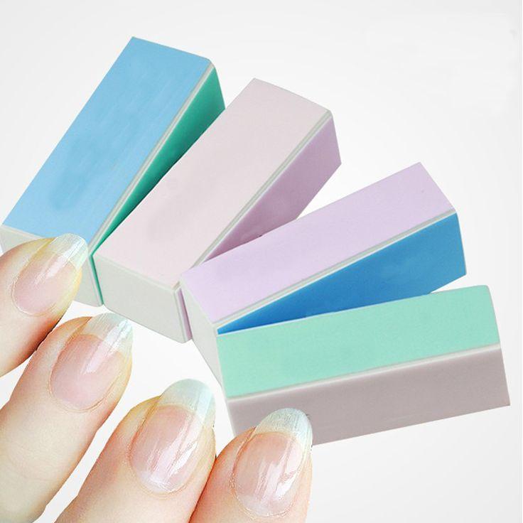 Práticas da arte do prego Manicure Shiner lustrando Buffer de arquivo de areia bloco 10 pçs/lote #5695 em Lixa para unha de Health & Beauty no AliExpress.com | Alibaba Group