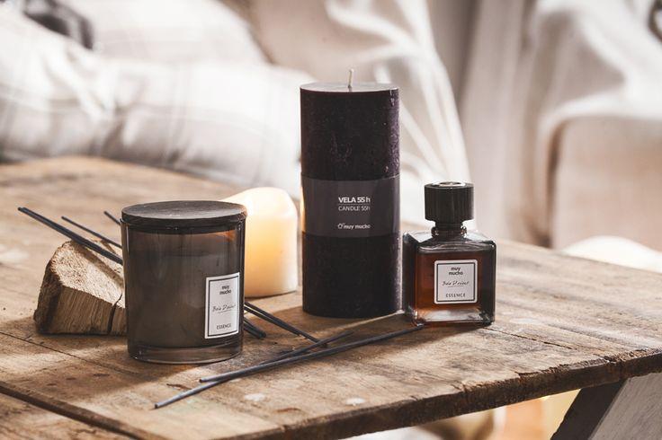 Aromaterapia para el hogar de muy mucho #aromaterapia #muymucho #velas #esencias #mikado #aroma #masculino #zen