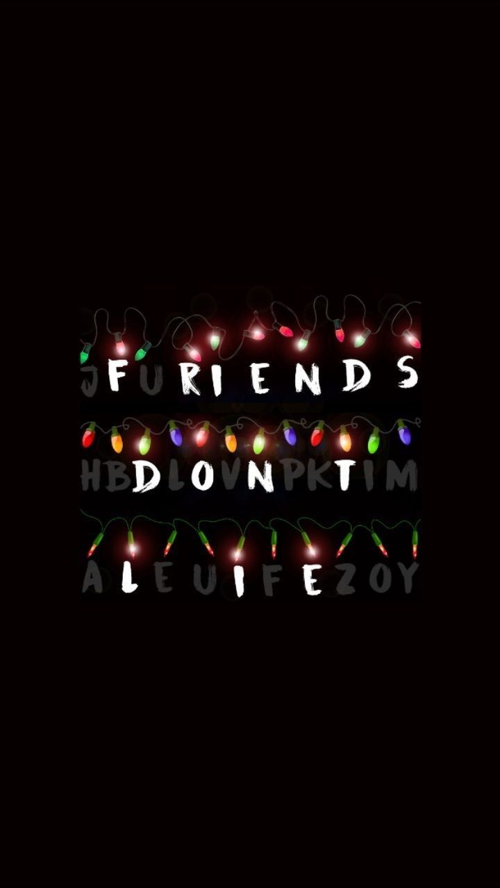instead of friends don't lie do i'll be there for you