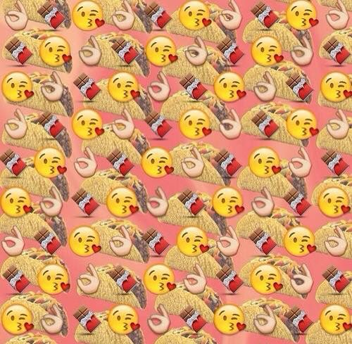 food emoji wallpaper with cute - photo #27