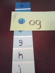 pre-k classroom ideas - Google Search -- I wish I had this when my son was learning.