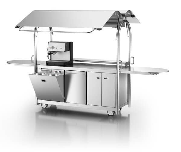 Mvu coffee cart mobile food stations pinterest coffee carts and coffee - Mobili scandinavi on line ...