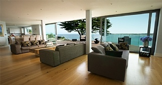 Amazing panoramic view from this holiday home in St Ives, Cornwall