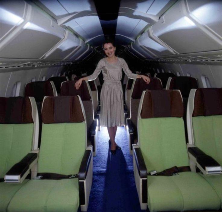 Original Air France Concorde Interior By Raymond Loewy