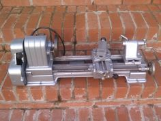 Old Vintage Craftsman No 109 Sears Jewelers Machinist Small Tabletop Metal Lathe