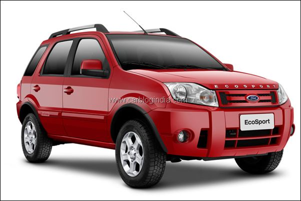 Ford Ecosport SUV front