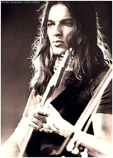 Pink Floyd's David Gilmour. Love his guitar solos; love his voice. Soooo cute.