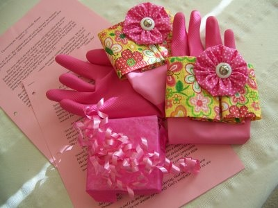 Fruit of the Spirit Dish Gloves and other Christian ideas for gifts.
