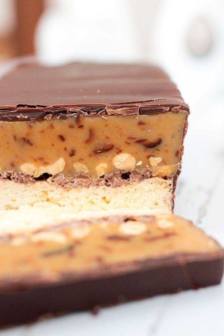 Twix trifft Snickers-Kuchen {Eat. Eat. Love.}