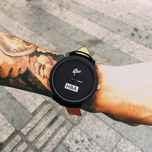 HBA Leather Strap Unisex Watches Men's Watches Quartz Women's Watches Dress Sports Watches Military Relojes Geneva Wristwatch