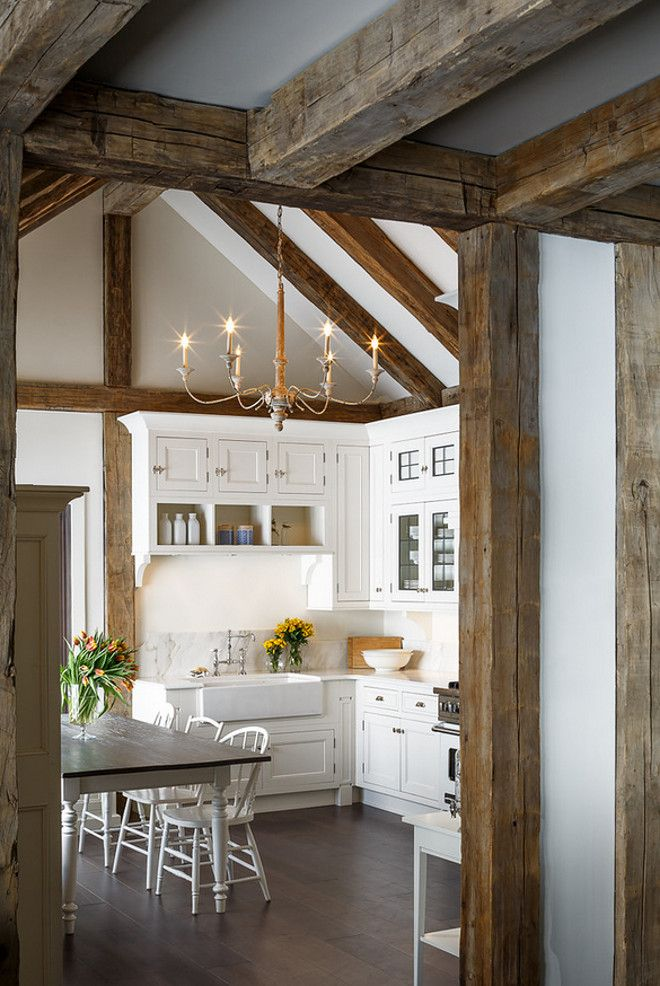 Reclaimed wood kitchen. Reclaimed timber wood kitchen ceiling. Reclaimed wood kitchen. Reclaimed wood Beam kitchen. #Reclaimedwoodkitchen #Reclaimedwood #ReclaimedTimber Astro Design Centre.