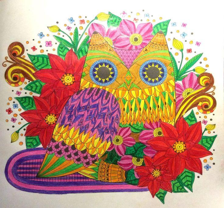 Coloreando Ando Del Libro Beautiful Day De Young Mi Park