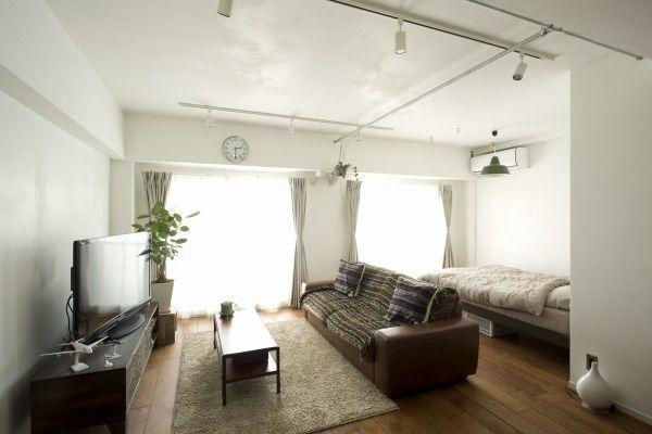 ブラウン床+ダークブラウン家具 : これで家具選びは完璧!床色別、インテリアコーディネイト!~リビング編 - NAVER まとめ
