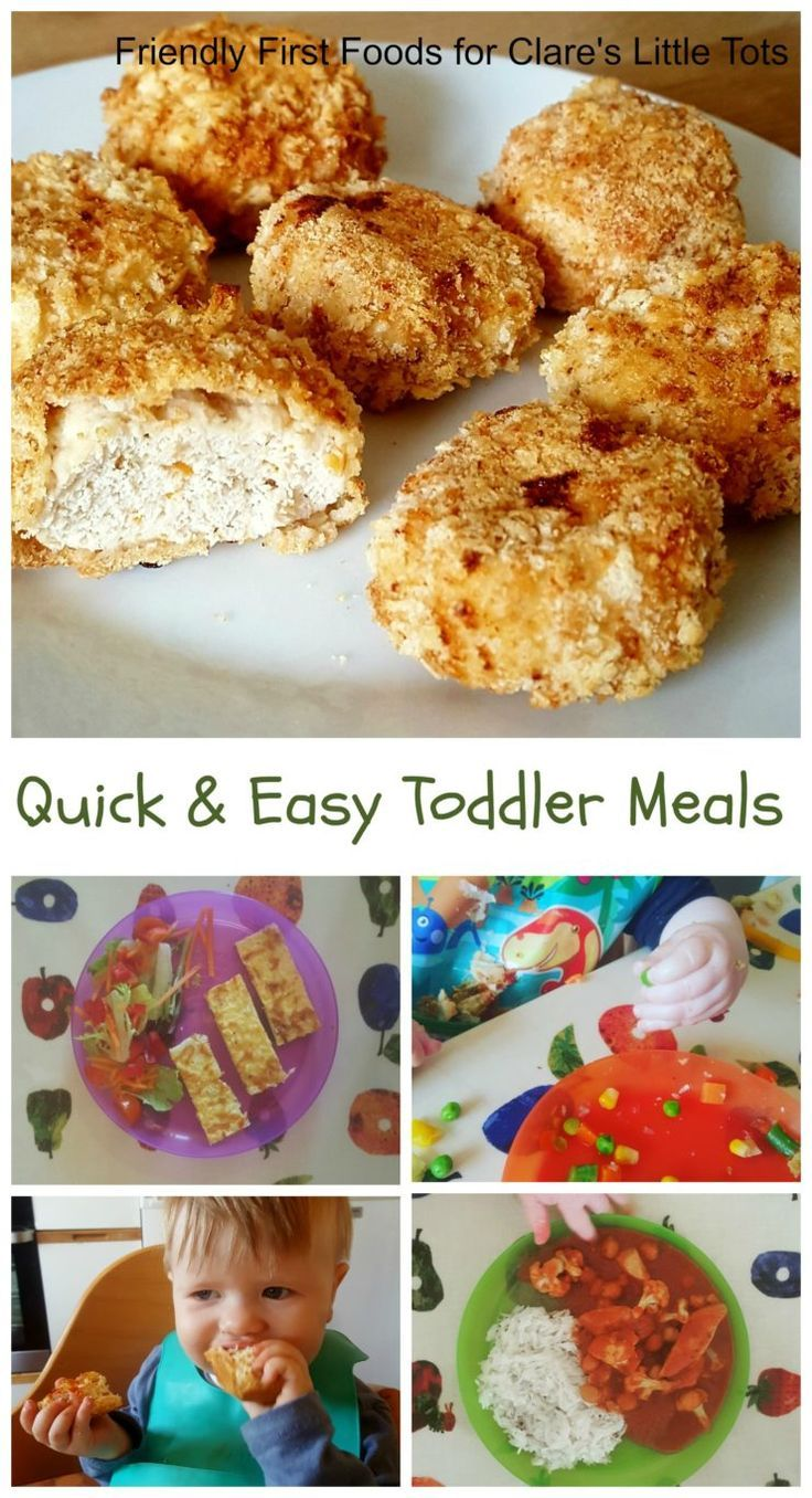 Quick And Easy Toddler Meals MealsToddler FunBaby