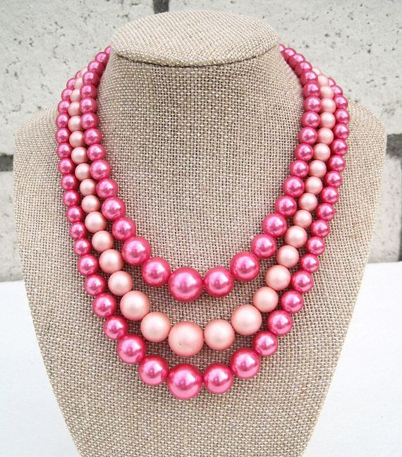 Candy Pink 6mm Glass faux Pearls 100 beads jewellery making