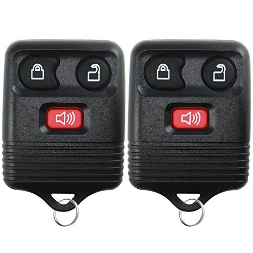 2 KeylessOption Replacement Keyless Entry Remote Control ...