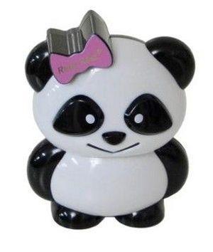 Lindo estojo de maquiagem infantil em formato de urso panda!    O estojo contém:   8 sombras, 5 brilhos labiais, 2 blush, 2 aplicadores e um espelho. #estojodemaquiagem #infantil #ursopanda #sombras #brilhos #blush #aplicadores #espelho #meninas