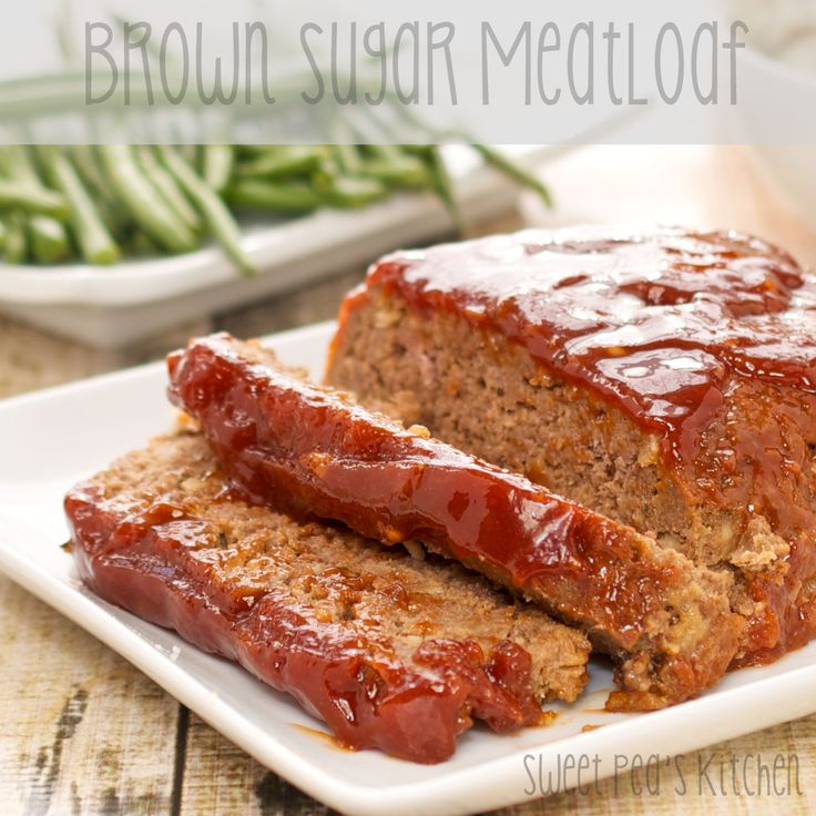 Brown Sugar Meatloafa