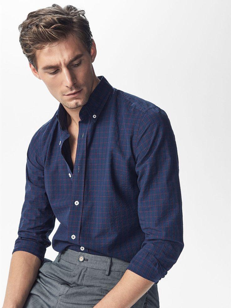 Camisas Cuadros - Camisas Casual - HOMBRE - Massimo Dutti España