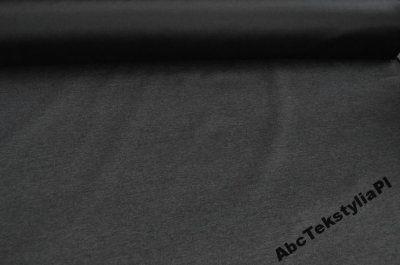 Tkanina obiciowa w kolorze grafitowo-czarnym