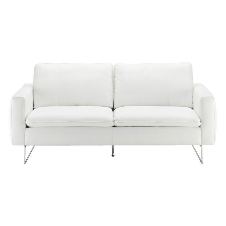 AVALON, 2h sohva, nahka valkoinen