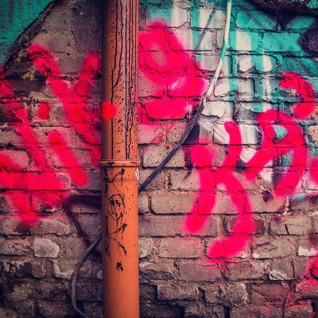 #streetart #colors #urbex #pink #signature